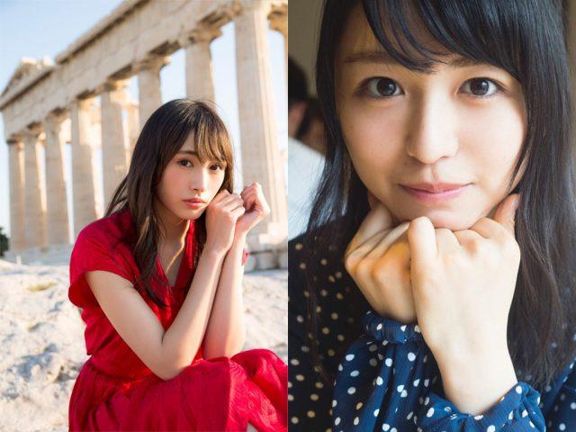 欅坂46渡辺梨加・長濱ねる ファーストソロ写真集、12/5・12/19発売決定!水着姿も披露!