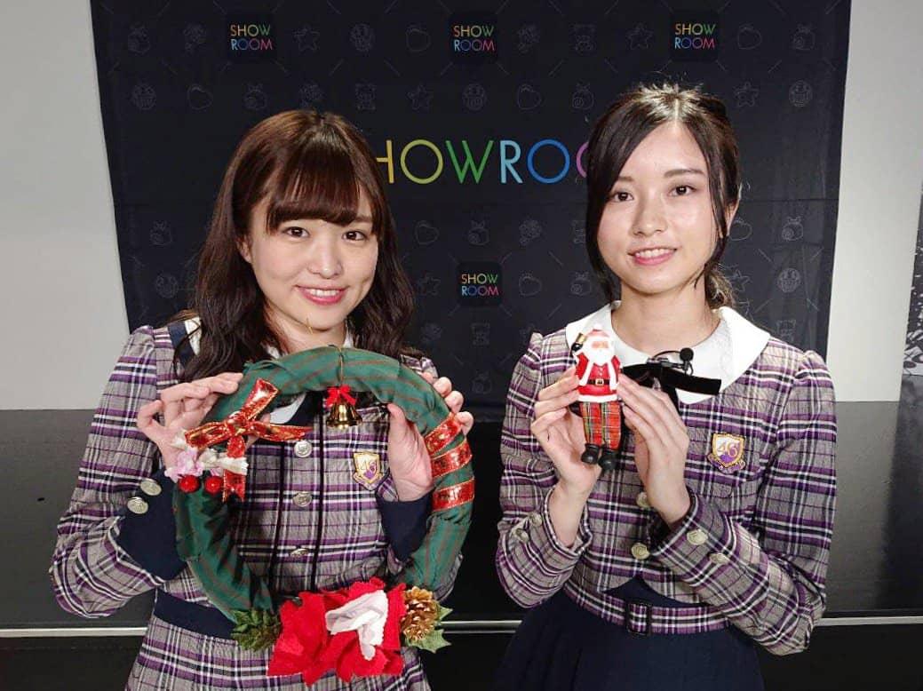 乃木坂46伊藤かりん・佐々木琴子「猫舌SHOWROOM」オフショット