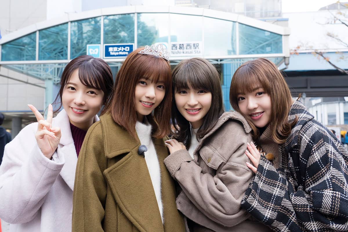 「NOGIBINGO!10」最終回!西野七瀬が寮生活した思い出の地・西葛西巡り! [12/17 25:39~]