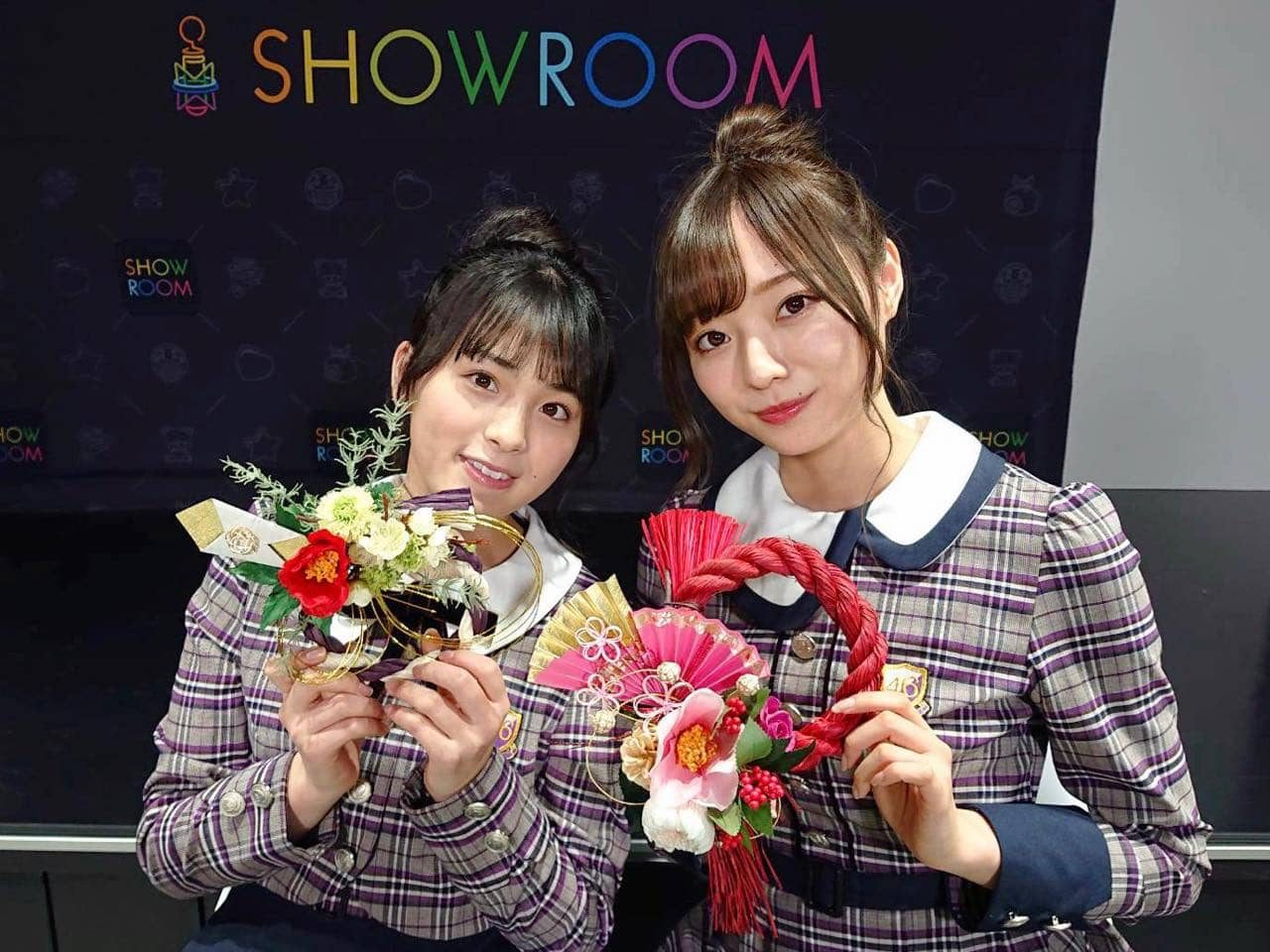 乃木坂46梅澤美波・大園桃子「猫舌SHOWROOM」オフショット