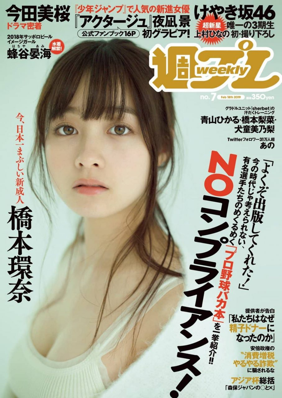 週刊プレイボーイ No.7 2019年2月18日号