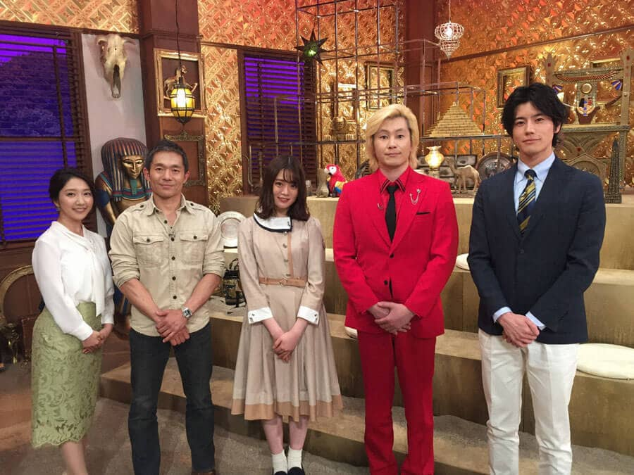 乃木坂46 山崎怜奈が「完全解剖!大ピラミッド七つの謎」にゲスト出演!