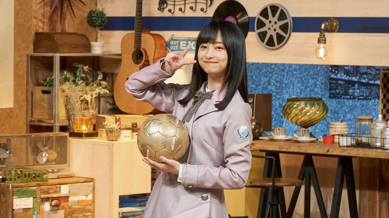 日向坂46 影山優佳が「FOOT×BRAIN」にSPアナリストとして再登場!