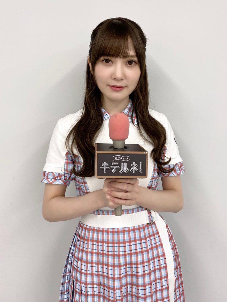 日向坂46 加藤史帆が「ZIP!」内コーナー「流行ニュース キテルネ!」に出演!
