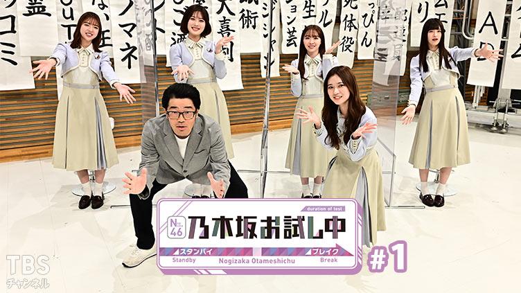 乃木坂46 新番組「乃木坂お試し中」今夜スタート!【TBSチャンネル1】