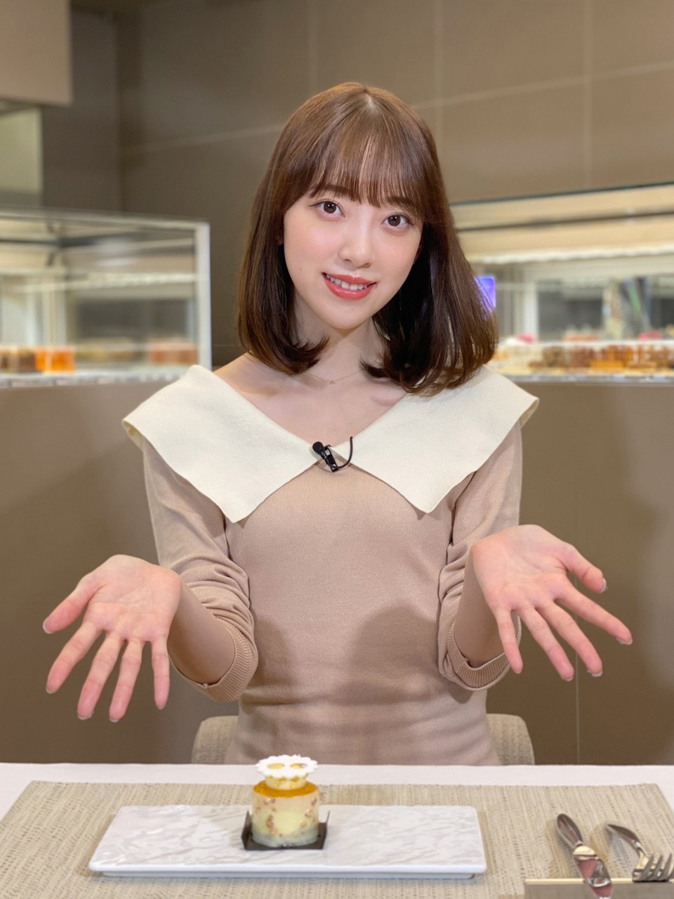 堀未央奈が「バゲット」に出演!ミニサイズの可憐なケーキを紹介!【2021.9.14 10:25〜 日本テレビ】