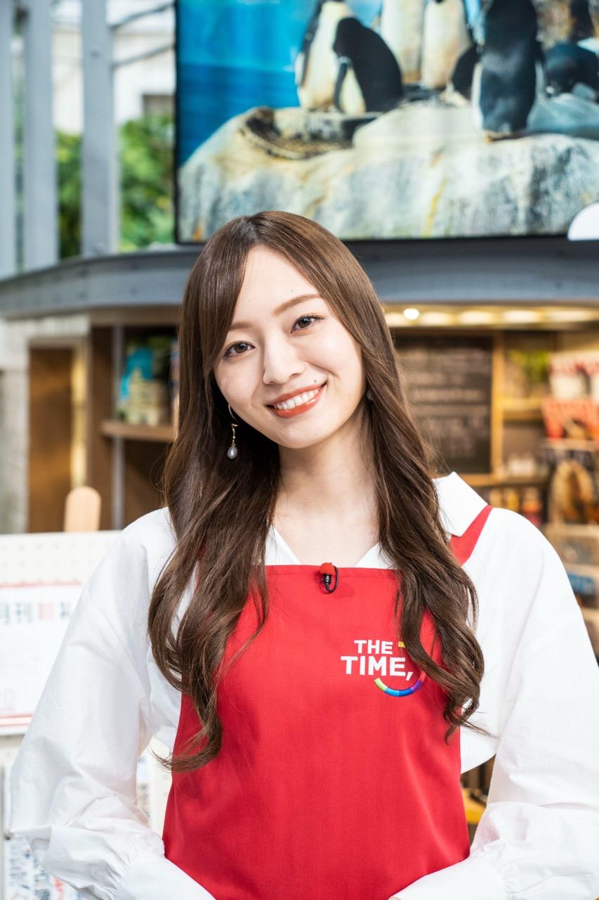 乃木坂46 梅澤美波が「THE TIME,」に出演!【2021.10.4 5:20〜 TBS】
